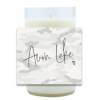 Camo City Name Hand Poured Soy Candle | Furbish & Fire Candle Co.