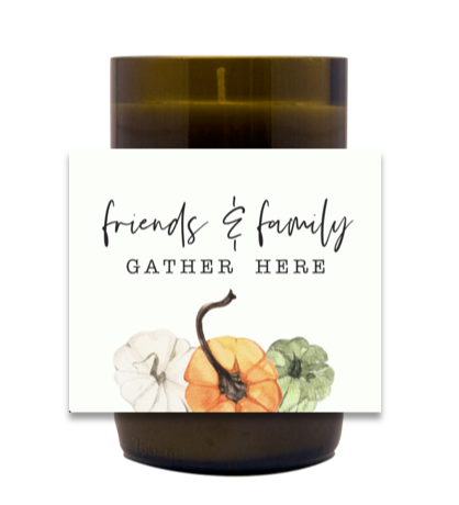 Gather Here Autumn Hand Poured Soy Candle | Furbish & Fire Candle Co.