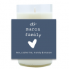 Heart Family Hand Poured Soy Candle   Furbish & Fire Candle Co.