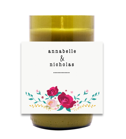 Perfect Names Hand Poured Soy Candle | Furbish & Fire Candle Co.