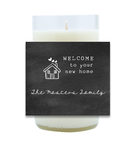 Welcome Hand Poured Soy Candle | Furbish & Fire Candle Co.