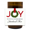 Joy To You and Yours Hand Poured Soy Candle | Furbish & Fire Candle Co.