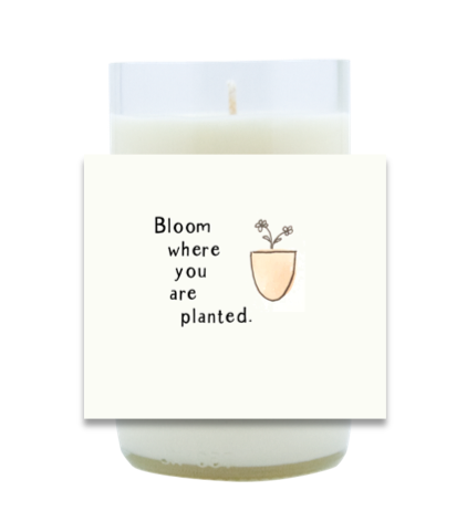 Bloom Hand Poured Soy Candle | Furbish & Fire Candle Co.