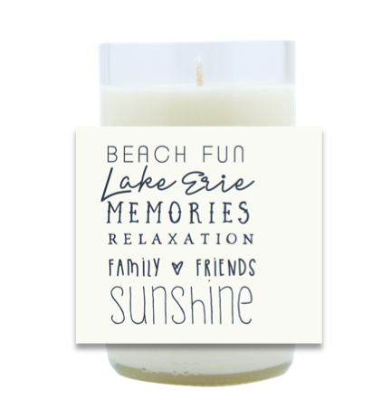Beach Fun Hand Poured Soy Candle | Furbish & Fire Candle Co.