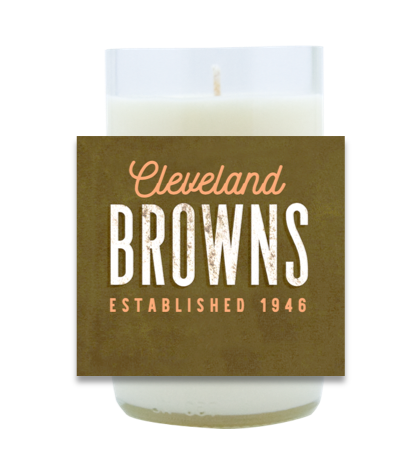 Browns Hand Poured Soy Candle | Furbish & Fire Candle Co.