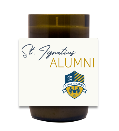 St. Ignatius Alumni Hand Poured Soy Candle | Furbish & Fire Candle Co.