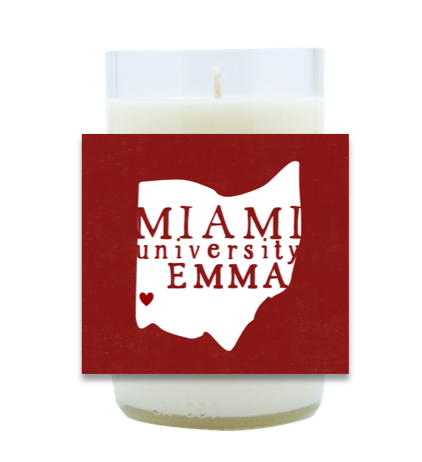 State Grad Hand Poured Soy Candle | Furbish & Fire Candle Co.