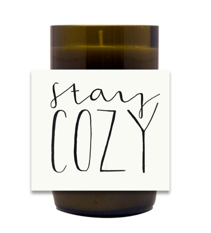 Stay Cozy Hand Poured Soy Candle | Furbish & Fire Candle Co.
