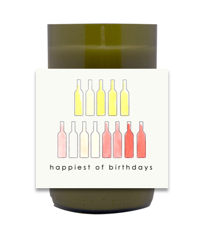 Happiest of Birthdays Hand Poured Soy Candle   Furbish & Fire Candle Co.