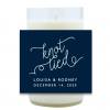 Knot Tied Hand Poured Soy Candle | Furbish & Fire Candle Co.