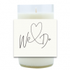 We Do Wedding Hand Poured Soy Candle | Furbish & Fire Candle Co.
