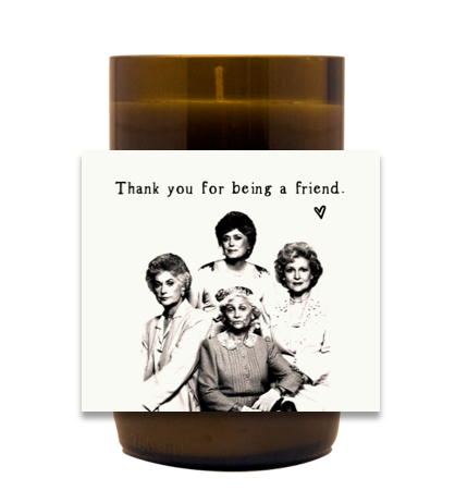Golden Girls Hand Poured Soy Candle | Furbish & Fire Candle Co.