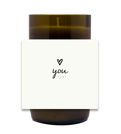 Love You Hand Poured Soy Candle | Furbish & Fire Candle Co.