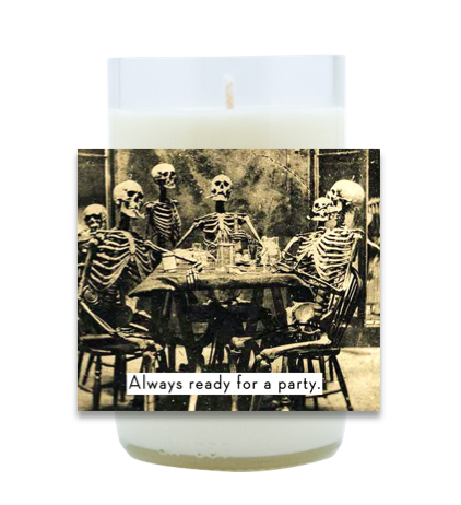 Always Ready For a Party Hand Poured Soy Candle | Furbish & Fire Candle Co.