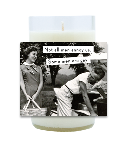 Not All Men Annoy Us Hand Poured Soy Candle | Furbish & Fire Candle Co.