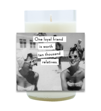One Loyal Friend Hand Poured Soy Candle | Furbish & Fire Candle Co.