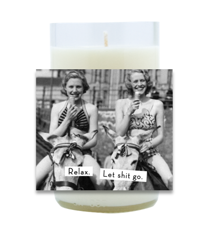 Relax, Let it Go Hand Poured Soy Candle | Furbish & Fire Candle Co.