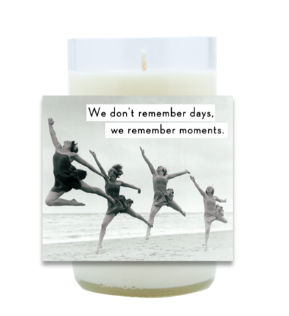 Remember Moments Hand Poured Soy Candle | Furbish & Fire Candle Co.