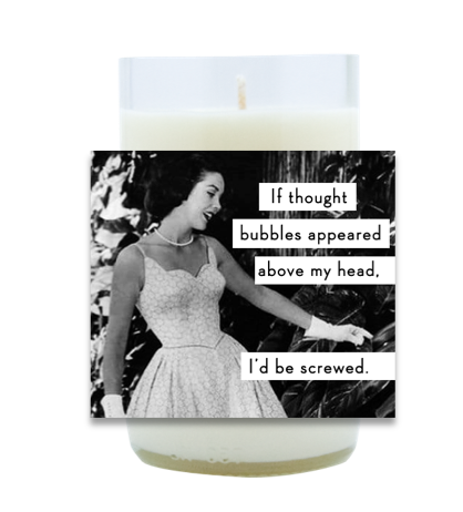 Thought Bubbles Hand Poured Soy Candle | Furbish & Fire Candle Co.