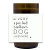 Very Spoiled Hand Poured Soy Candle | Furbish & Fire Candle Co.