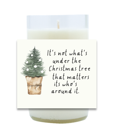 Around The Tree Hand Poured Soy Candle | Furbish & Fire Candle Co.