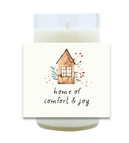 Home of Comfort & Joy Hand Poured Soy Candle | Furbish & Fire Candle Co.