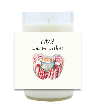 Cozy Warm Wishes Hand Poured Soy Candle | Furbish & Fire Candle Co.