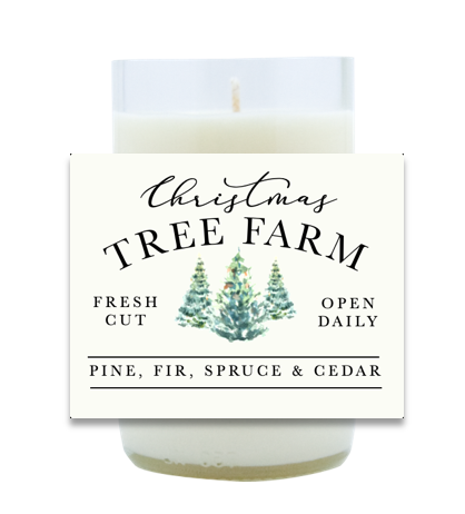 Christmas Tree Farm Hand Poured Soy Candle | Furbish & Fire Candle Co.