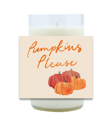 Pumpkins Please Hand Poured Soy Candle | Furbish & Fire Candle Co.